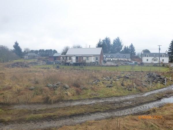 Building Plot Craigton Farmhouse Cottage Bridge of Cally