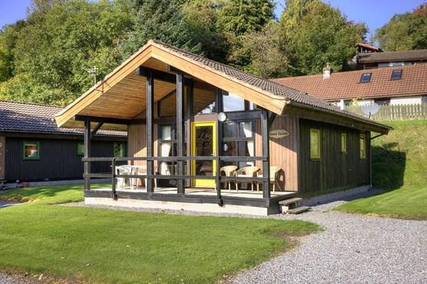 Sandy Island Lodge Lochtay Highland Lodges Killin